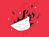 fury of chicken