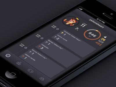 Game stats app