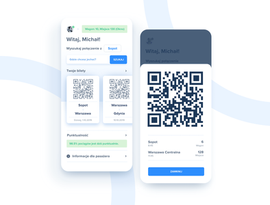 Train booking and ticketing app