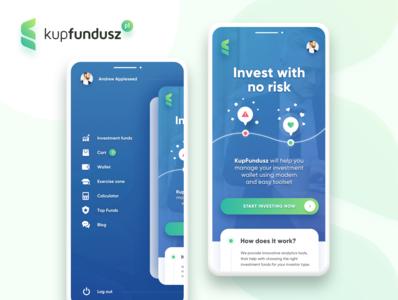 Kup Fundusz Fintech Mobile App