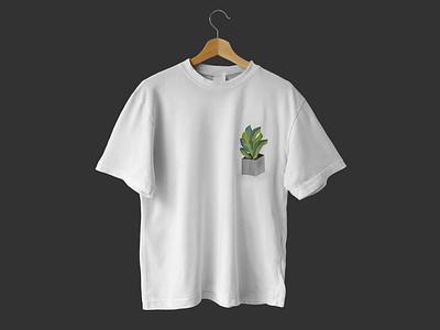 Plant  branding flower logo brand art graphic design flat illustration plants t shirt design