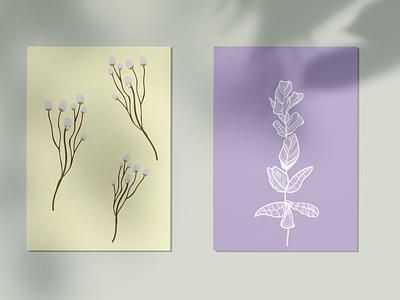 POSTER logo flower pattern graphic design brand web design flat illustration branding poster
