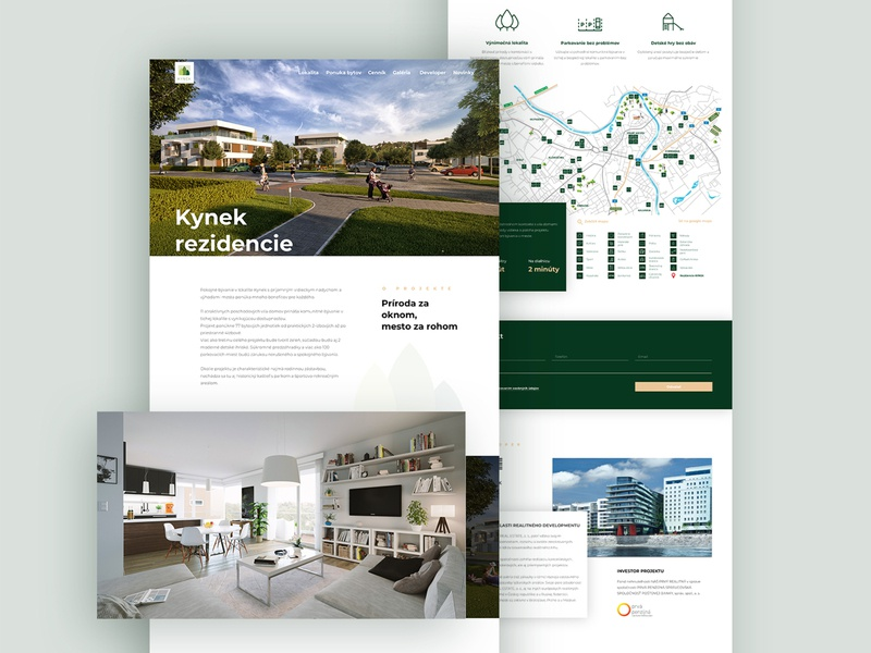 Housing landing page website landing page clean design ux ui