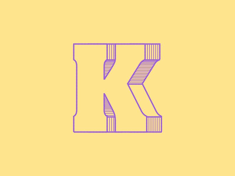 #Typehue: K challenge design letterform k letter typography type typehue lighthouse