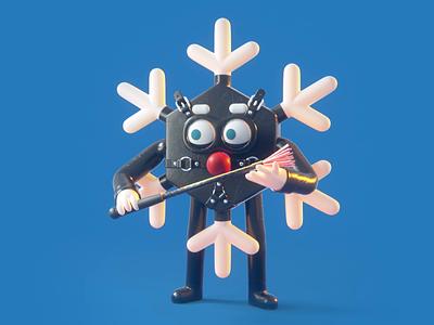 Safeword: Snowflake ❄️ games erotic sexy whip panic studio gif greeting christmas card christmas latex snowflake 3d characters character naughty