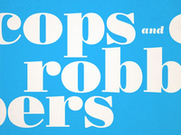 Cops And Robbers - album type