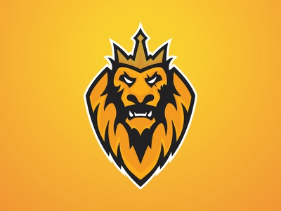Lion esports king scar sports logo lion