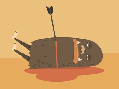 """""""No honey, he is just napping."""" illustrator illustration"""