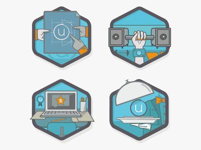 Ubiquity Product Badges