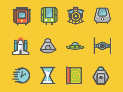Travel icons design illustrator illustration iconography icons