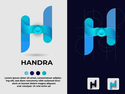 Logo design latter icon illustrator typography logo illustration design