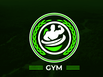 GYM Logo Design branding illustrator typography logo illustration design