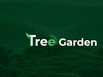 Tree Logo Design branding latter illustrator typography logo illustration design