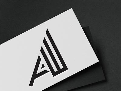Logo design business logo letter logo aw logo aw log vector monogram logo branding graphic design latter icon illustrator typography logo illustration design
