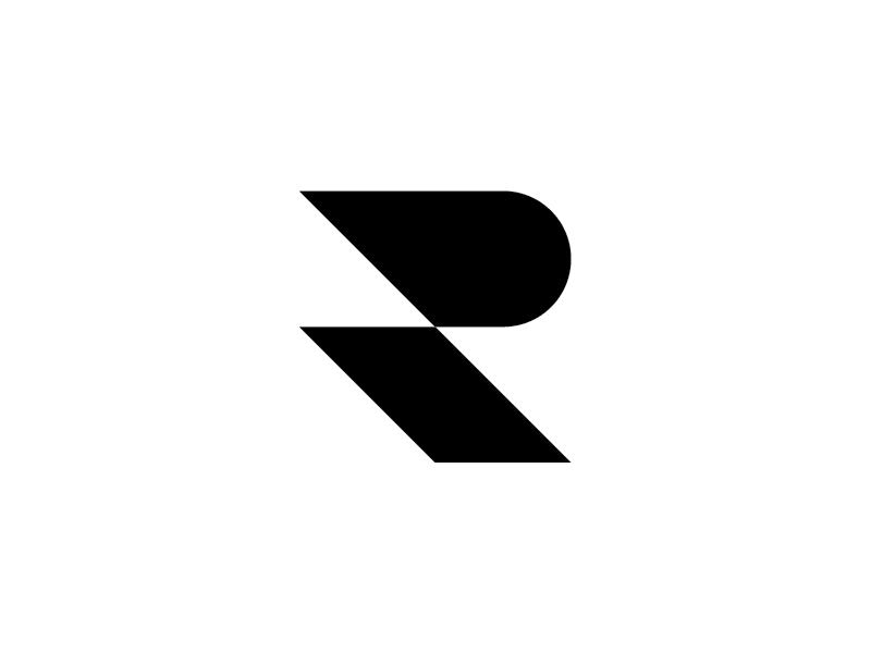 [R] symbol geometric letter typography type 36days-r 36daysoftype