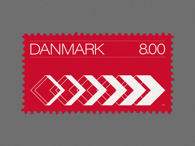 Stamp Archive — Denmark 🇩🇰 design graphicdesign geometric minimal symbol logo typography stamp archive