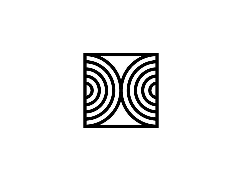 [X] symbol geometric letter typography type 36days-x 36daysoftype