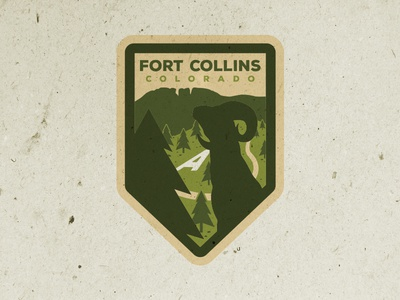 Fort Collins Badge Design