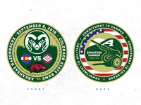 2018 Military Appreciation Game Challenge Coin