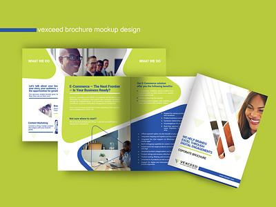 Vexceed Technologies- Brochure Design design branding printdesign brand design