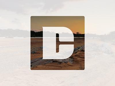 DC Monogram photo logo landscape identity design identity personal branding monogram logo