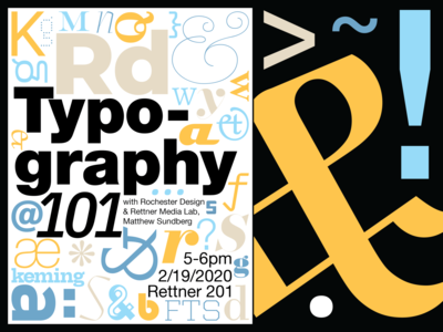 Typography Workshop Poster