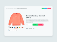 StockX Product Page Redesign