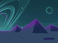 Planet landscape 1 of 2