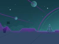 Planet landscape 2 of 2