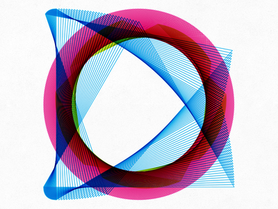 1° lines circle pattern degree