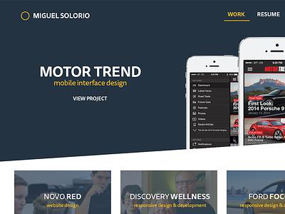 Portfolio Refresh Preview portfolio