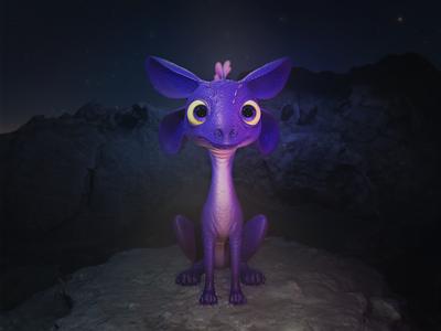 NVIDIA Studio unofficial mascot sculpture 3d modeling characterart illustration characterdesign