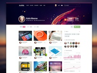 Dribbble Profile Redesign (RP inside)