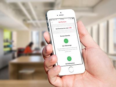 Menote - Get Premium ios premium pro go pro buy purchase upgrade white app iphone