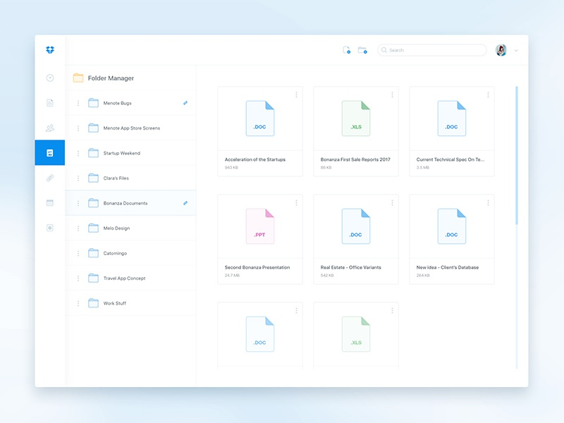 dropbox redesign dropbox redesign intro part by dmitriy kharaberyush dribbble. Black Bedroom Furniture Sets. Home Design Ideas