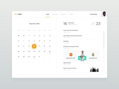 Daily Calendar Preview