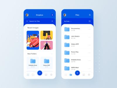 Realistic Dropbox Redesign Concept