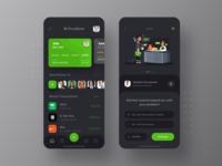 PrivatBank Redesign Dark Mode