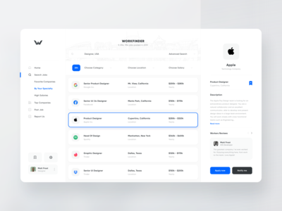 WorkFinder - Job Board Platform