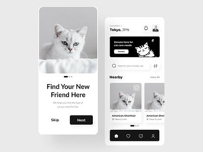 Cat Adoption App ui