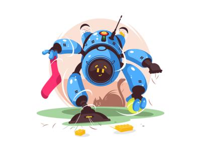 Advance robot cleaner