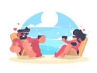 Rest On The Beach