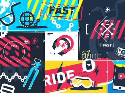 Extreme sport background background abstract sport extreme illustration vector flat kit8