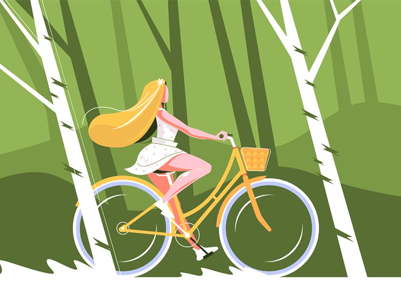 Girl on bike kit8 net