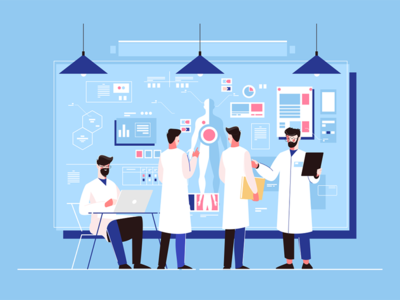 Genetics researchers