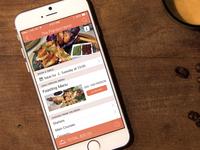 Restaurant Experience App