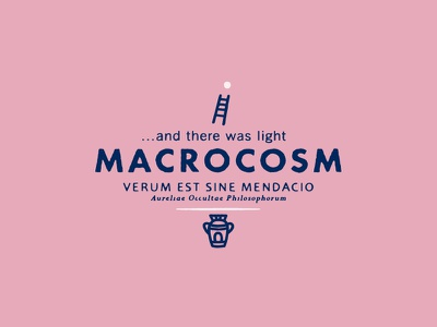 Macrocosm sans-serif branding deus signpainter type mystic vintage font typography logo signpainting