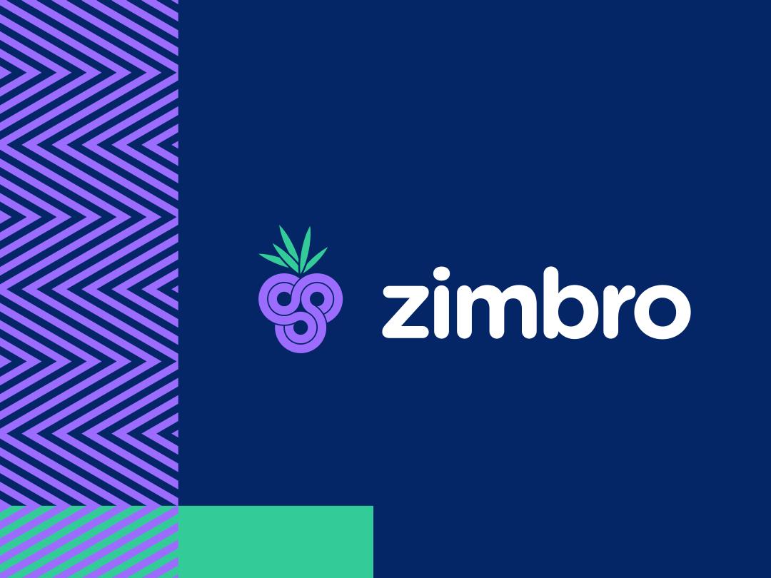 Zimbro logo fruit junniper zimbro