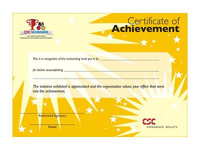 Certificate of Achievement ui ux branding design certificate design certificate template certificate