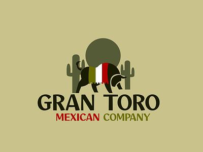 mexican logo toro mexico desert adobe photoshop adobe illustrator logo design logo graphicdesign gesign graphic